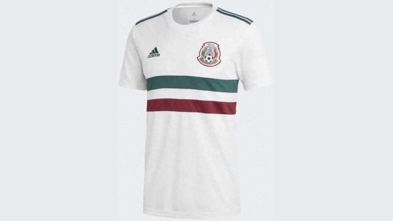 Das neue Auswärtstrikot von Mexiko. Photo: Adidas.