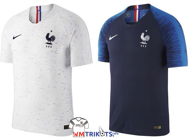 frankreich wm 2018 trikots nike fff trikots 2018. Black Bedroom Furniture Sets. Home Design Ideas