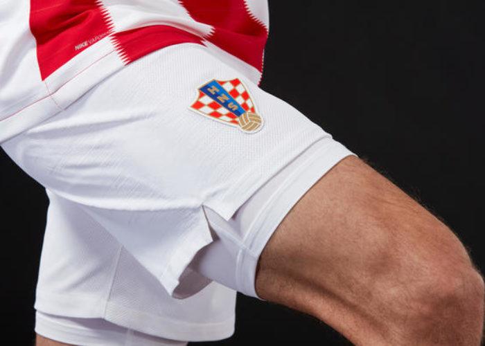 Die Hosen des neuen Kroatien Heimtrikots. Photo: Nike.