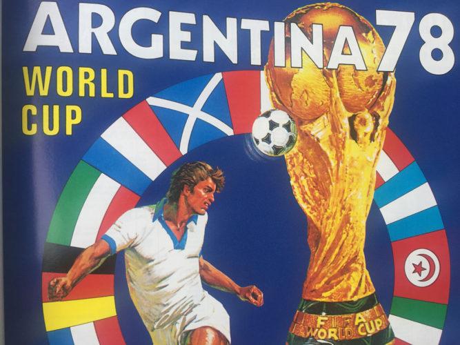 Auch zur Fußball WM 1978 gab es schon ein Panini-Heft!
