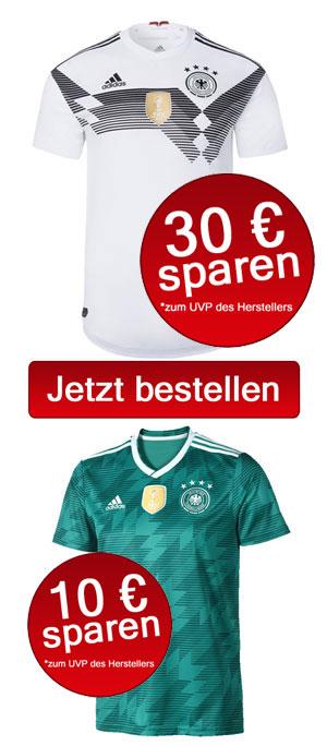 Jetzt die neuen DFB Trikots 2018 kaufen!