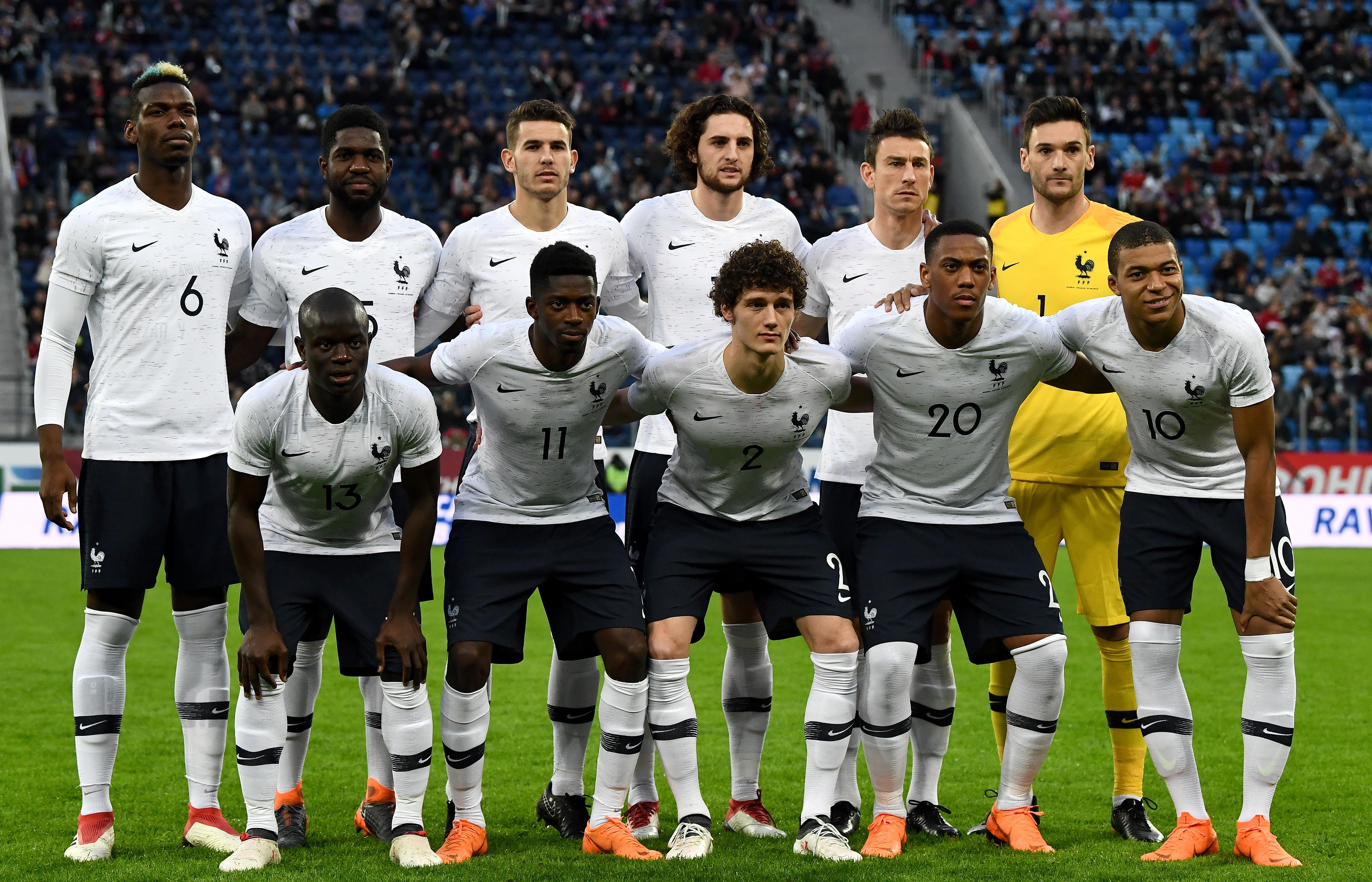 Frankreich wm 2018 trikots nike fff trikots 2018 - Coupe de france l equipe ...