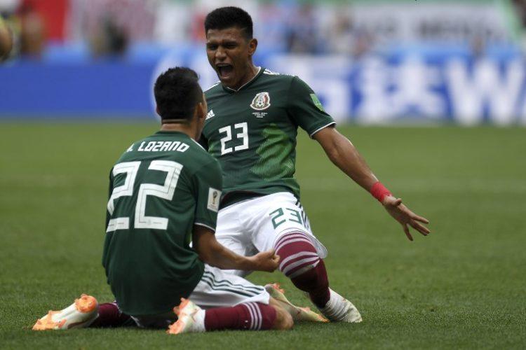 17.Juni 2018 - Mexiko gewinnt mit 1:0 gegen Deutschland! Torschütze war Hirving Lozano.