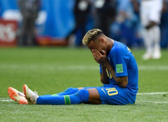 Neymar erschöpft und dankbar - Brasilien ist im WM-Viertelfinale! (Marco Iacobucci EPP / Shutterstock)