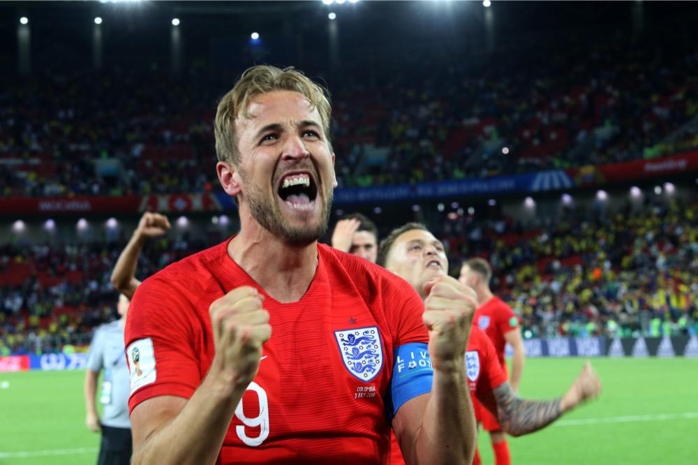 Englands Superstar Harry Kane freut sich aufs WM-Viertelfinale - mit 6 Toren ist er derzeit der Torschützenkönig (Marco Iacobucci EPP / Shutterstock)