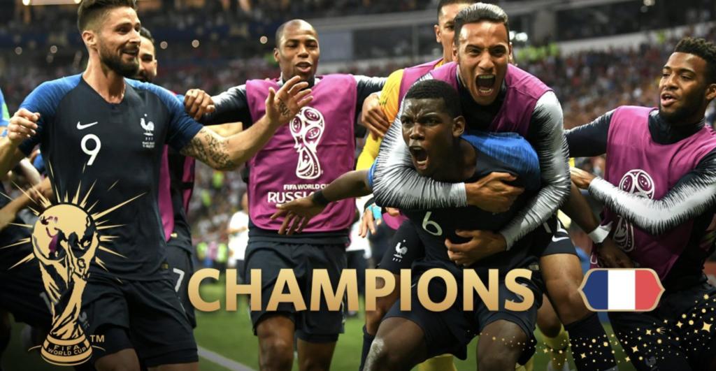 Frankreich ist Weltmeister 2018!
