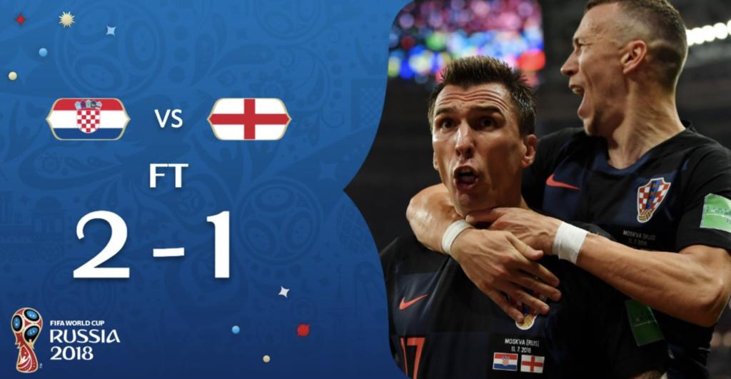 Kroatien steht im WM-Finale 2018!